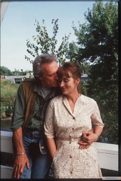 """The Bridges of Madison County  Robert Kincaid: """"This kind of certainty comes but once in a lifetime."""""""