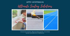 We supply Construction Sealants, Waterproofing Systems, Adhesives & Green Roof Systems to trades in the construction industry in Melbourne and Australia.