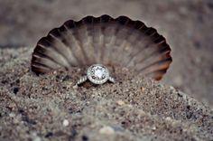 A stunning #ring for a beach wedding!! #BridesToBe #CoastDiamond #SheSaidYes | www.goldcasters.com