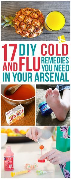 17+DIY+Cold+&+Flu+Remedies+You+Need+in+Your+Arsenal