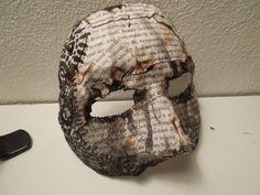 Burned Book Mask 5