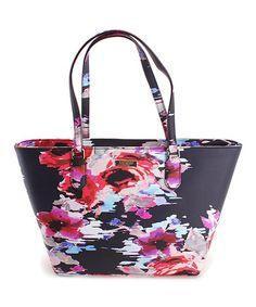 This Blurry Floral Small Dally Laurel Way Tote is perfect! #zulilyfinds