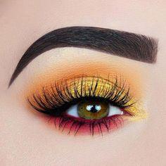Make-up; Lidschatten-Looks; Katzenaugen-Make-up; Make-up-Ideen; Make-up-Tut Makeup Eye Looks, Eye Makeup Art, Eye Makeup Tips, Eyeshadow Makeup, Eyeshadow Ideas, Eyeliner Ideas, Makeup Products, Makeup Cosmetics, Best Eye Makeup Brushes