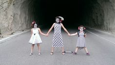 Day of the Dead photo shoot. Tunnel. 2015.