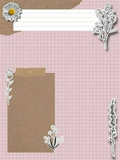 Paper Background Design, Powerpoint Background Design, Collage Background, Flower Background Wallpaper, Bullet Journal Lettering Ideas, Bullet Journal Ideas Pages, Aesthetic Template, Aesthetic Stickers, Instagram Frame Template