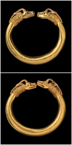 GOLD IBEX BRACELETS - Greek 4thC BC. | British collection