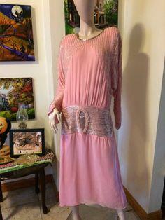 Vintage Deco Stunning Pastel Pink Crystals by VansVintageTreasures
