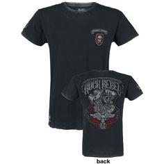 Custom Motors Patch Shirt - T-Shirt by Rock Rebel by EMP