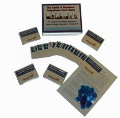 The Social and Emotional Competence Card Game (for ADHD, Asperger's, Anxiety, Depression, & Bipolar Disorder)