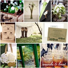 Fishing wedding inspiration board #fishing, #wedding,
