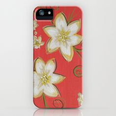 Flowerly iPhone Case by CATRU