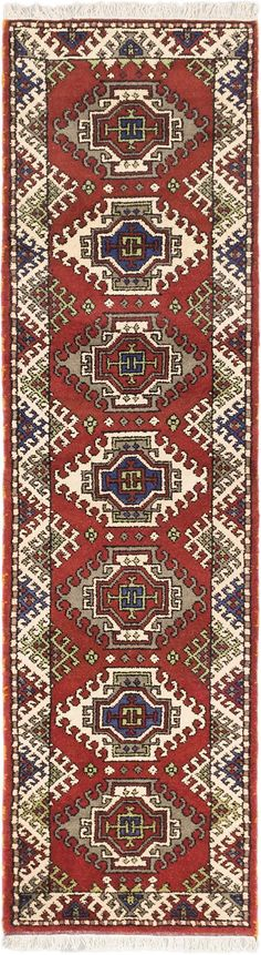 Fine hand-knotted Indian rugs with strong Persian influenced designs. Indian Rugs, Small Rugs, Oriental Rug, Wool Rug, Runners, Bohemian Rug, Area Rugs, Copper, Orange Red