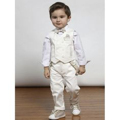 Κουστουμάκι βάπτισης Mi Chiamo βαμβακερό 100% πλήρες σετ οικονομικό με παντελόνι, τιράντες, πουκάμισο, γιλέκο, παπιγιόν και καπελάκι, Βαπτιστικό κουστουμάκι τιμές-προσφορά, Επώνυμα βαπτιστικά ρούχα για αγόρι νέες παραλαβές