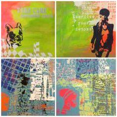 Tjele Efterskole. Kunst og Design. Serigrafi