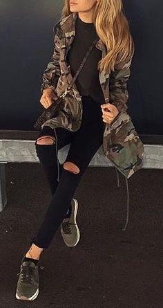 #fall #outfits / camo