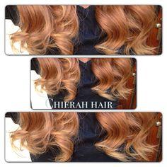 Golden blond hair bundels contact Chierah hair   Haar type: body wave / big weave Extra info: 1 stuk weegt 100 gram. Machine inslag, dubbele laag. Haar valt niet snel uit. U kunt kiezen vanaf 12 inch tot 26 inch.