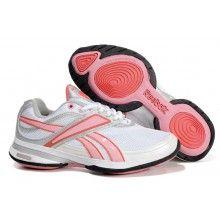 9bfaa4fa21dfb1 Reebok Easytone Reeinspire Lux White Pink Grey Sports Footwear