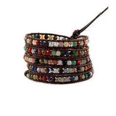 This Month's Featured Designer - CHAN LUU. Chan's Multi Stone Leather Wrap is one of her all time best sellers...