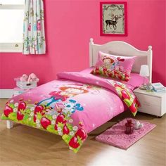 Strawberry Shortcake Bedding Set Strawberry Shortcake Comforter Set