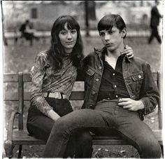 Diane Arbus Photo--- couples. personalities