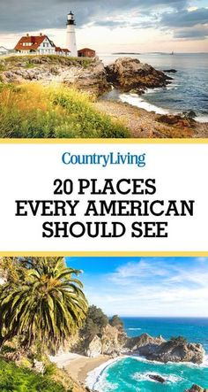Don't forget to save these wonderful places to go! For more travel ideas visit @Country Living Magazine on Pinterest.