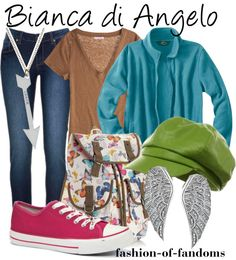 """""""Bianca di Angelo"""" by fofandoms ❤ liked on Polyvore... I would totally wear this but maybe different shoes"""