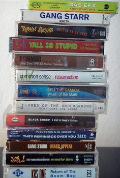Hip-Hop cassettes