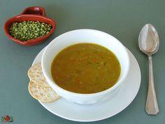 Recette - Soupe aux pois cassés [Vég.] | SOS Cuisine