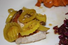 Pork Chop with Peppers