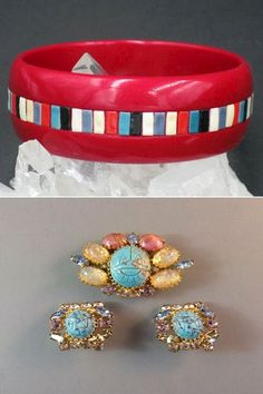 Use Walmart Jewelry Department For Your Shopping List/ 1950s Jewelry, Vintage Costume Jewelry, Vintage Costumes, Antique Jewelry, Vintage Jewelry, Walmart Jewelry, All Gems, Crystal Choker, Earring Set