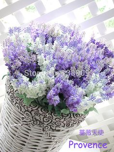 La simulación mediterráneo provenza lavanda flores(China (Mainland))