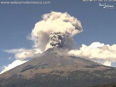Volcán Popocatepetl, Agosto 2013