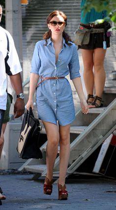 You, The Fashion Jury: Leighton Meester | Grazia Fashion