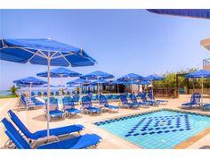 Krini Beach hotel, Sfakaki, Crete, Greece, member of Top Peak Hotels Crete Greece, Beach Hotels, Beaches, Patio, Stars, Outdoor Decor, Top, Beautiful, Beauty