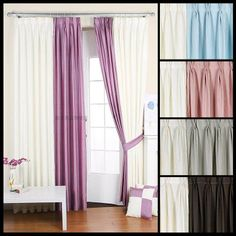 simple but classy grey fabric shower curtains