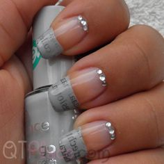 Newspaper nail art tutorial    http://www.youtube.com/watch?v=MhPY0rAd9RU&feature=channel_video_title