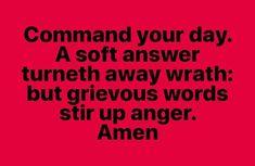 Amen Amen Amen #commandyourday