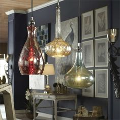 Uttermost Sardinia 1 Light Mini Pendant
