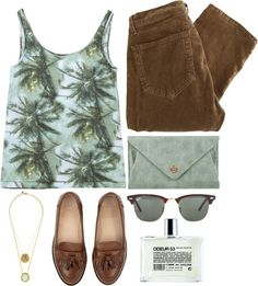 """""""aloha from paradise"""" by rosiee22 ❤ liked on Polyvore"""