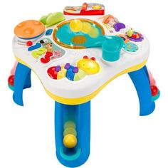 Vintage Bright Starts Having a Ball Get Rollin u Activity Table