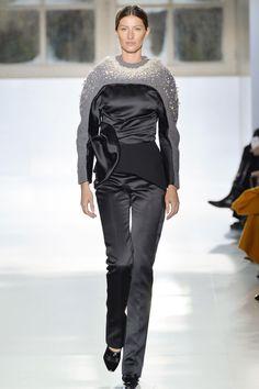Balenciaga Fall 2014 - How do you top Daria Werbowy closing your show? You get Gisele Bündchen, naturally.