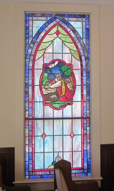 Stained Glass Windows at Rockledge United Methodist Church in Rockledge, GA