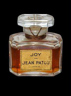 ♔ Vintage Jean Patou Joy Perfume In Baccarat Crystal