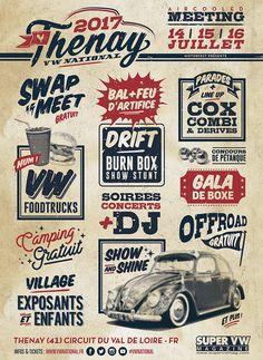 Thenay 2017 VW National 14-15-16 juillet 2017 Thenay, Val de Loire, France   Organise par VW National Facebook: