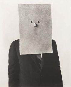 Irving Penn, Saul Steinberg in Nose Mask, 1966 on ArtStack #irving-penn #art