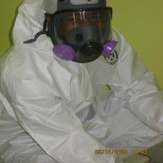 Lavar Blake.  One of GeoFocus' senior certified, trained and experienced mold removal technicians.