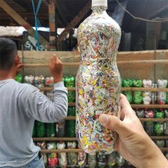 The Plastic Solution-eco bricks Plastic Bottle House, Reuse Plastic Bottles, Brick Projects, Diy Furniture Projects, Biodegradable Products, Recycled House, Recycled Crafts, Bottle Wall, Small Gardens