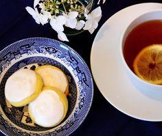 Deb's Dust Bunny: Tea In the Garden - Iced Lemon Cookies