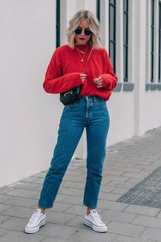 Outfit Jeans, Jeans Outfit Winter, Winter Fashion Outfits, Winter Outfits, Boyfriend Jeans Outfit, 80s Jeans, Faded Jeans, Grey Jeans, Black Denim