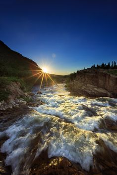 Swiftcurrent Falls by Jason Savage on 500px